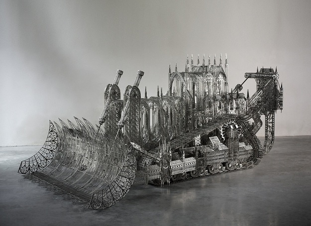 "<p><strong>Wim Delvoye, </strong><i style=""line-height: 1.8em;"">D11 Bulldozer, </i>2008<i style=""line-height: 1.8em;""> </i></p>"